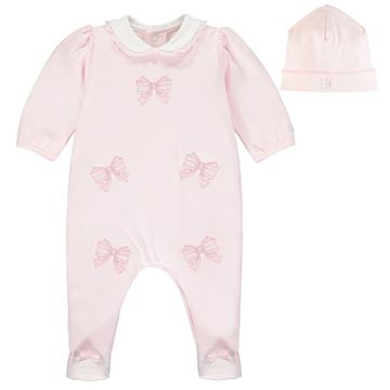 Picture of Emile Et Rose Baby Girls Pink Winter Romper
