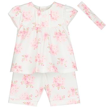 Picture of Emile Et Rose Baby Girls Pink Printed Willow Set