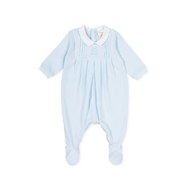 Picture of Tutto Piccolo Baby Boys Blue Babygrow