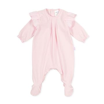 Picture of Tutto Piccolo Baby Girls Pink Babygrow