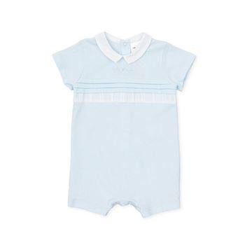 Picture of Tutto Piccolo Baby Boys Blue Short Romper