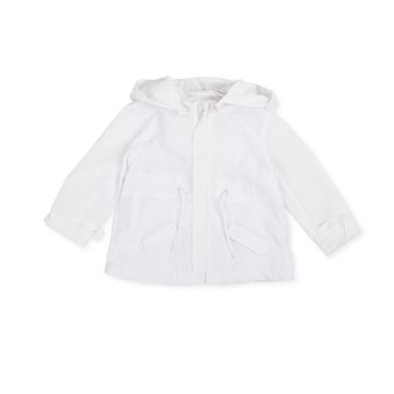 Picture of Tutto Piccolo Baby Boys White Jacket