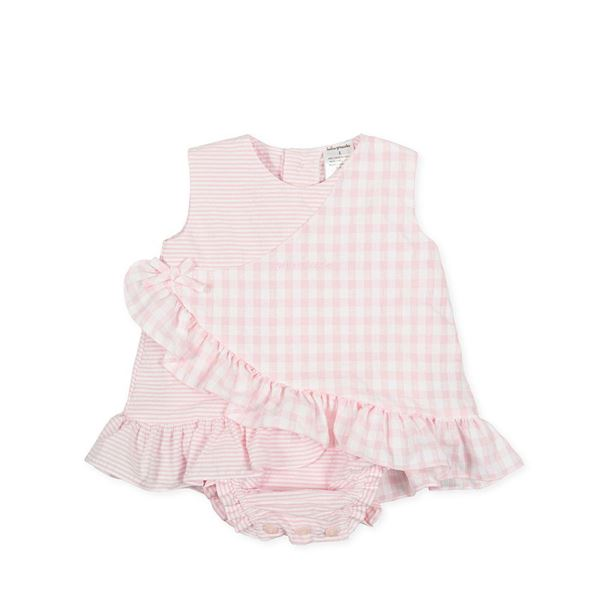 Picture of Tutto Piccolo Baby Girls Pink Checked Set