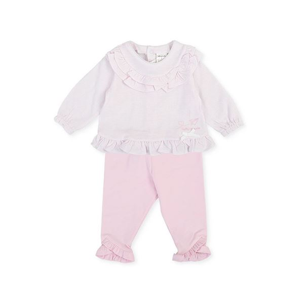 Picture of Tutto Piccolo Baby Girls Pink 2 Piece Set