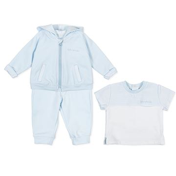 Picture of Tutto Piccolo Baby Boys Blue Tracksuit