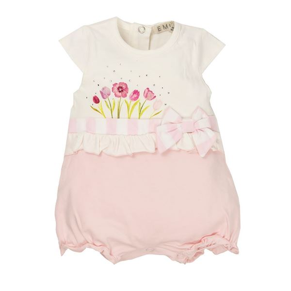 Picture of EMC Baby Girls Pink Romper