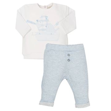 Picture of EMC Baby Boys Blue 2 Piece Set
