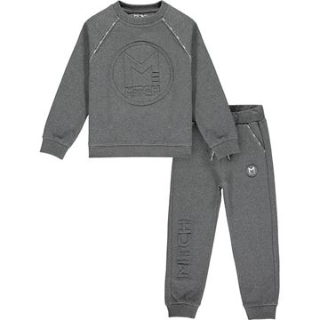 Picture of Mitch Boys 'Puerto Rico' Grey Tracksuit