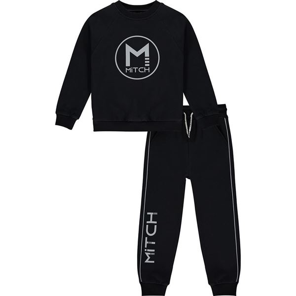 Picture of Mitch Boys 'Gutemala' Black Tracksuit