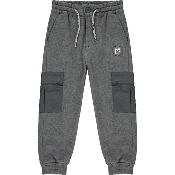 Picture of Mitch Boys 'Paraguay' Grey Joggers