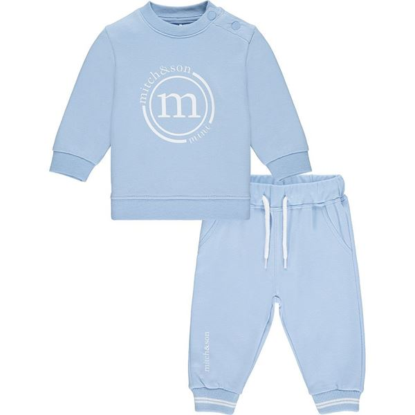 Picture of Mitch & Son Mini Baby 'Holland' Blue Tracksuit