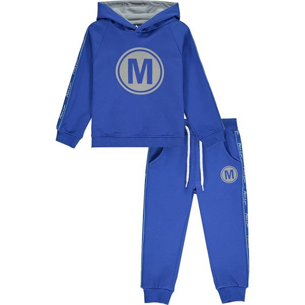 Picture of Mitch & Son Boys 'Scotland' Blue Hooded Tracksuit