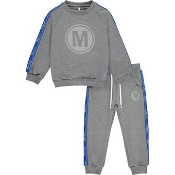 Picture of Mitch & Son Boys 'Swan' Grey Tracksuit