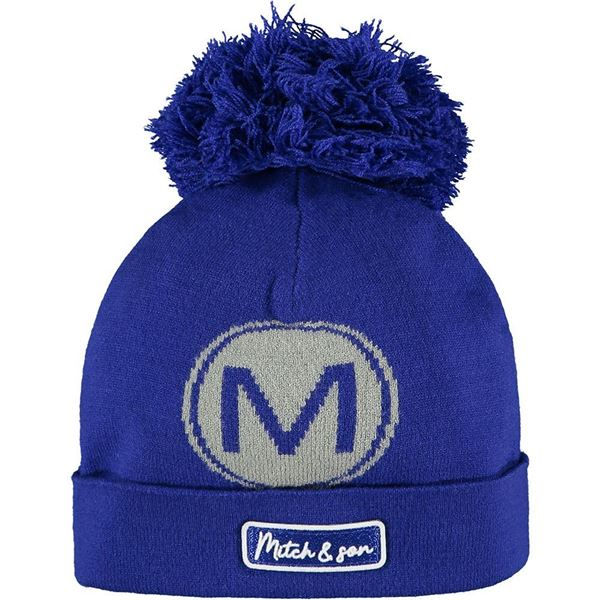 Picture of Mitch & Son Boys 'St James' Blue Knitted Hat