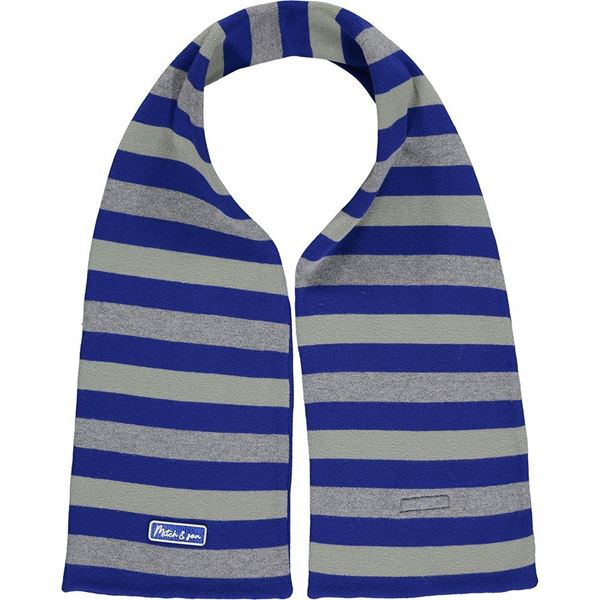 Picture of Mitch & Son Boys 'St James' Blue Knitted Scarf
