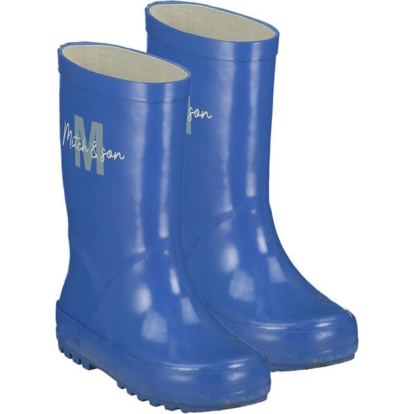 Picture of Mitch & Son Boys 'Hunter' Royal Blue Wellies