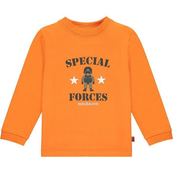 Picture of Mitch & Son Boys 'Morrison' Orange Top