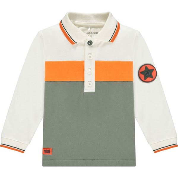 Picture of Mitch & Son Boys 'Moncur' White Polo Top