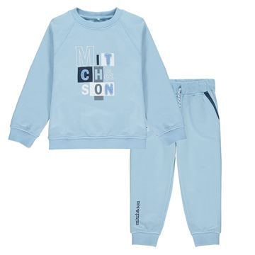 Picture of Mitch & Son Boys 'Pheonix' Blue Tracksuit