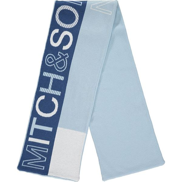 Picture of Mitch & Son Boys 'Parkgrove' Blue Scarf