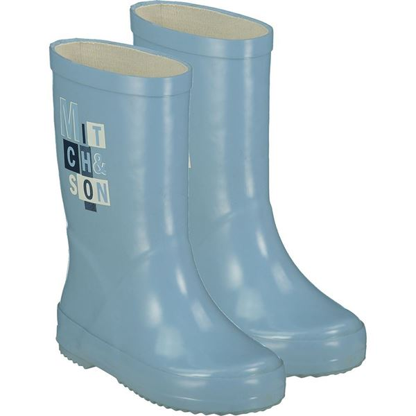 Picture of Mitch & Son Boys 'Hunter' Blue Wellies