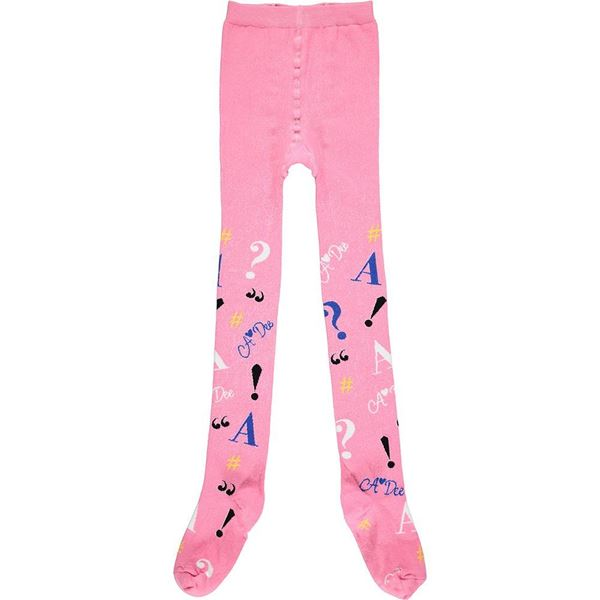 Picture of Ariana Dee Girls 'Stevie' Pink Tights