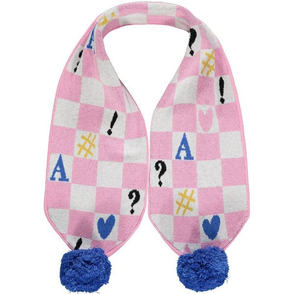 Picture of Ariana Dee Girls 'Shona' Pink Printed Scarf