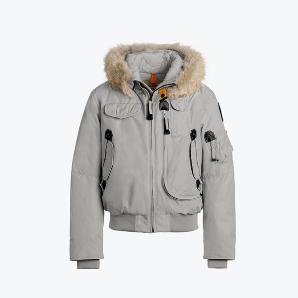 Picture of Parajumpers 'Gobi' Boys Paloma Bomber Jacket with Fur