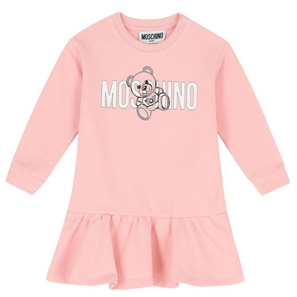 Picture of Moschino Baby Girls Pink Dress