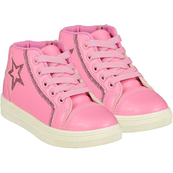 Picture of Ariana Dee Girls 'Star' Pink High Top