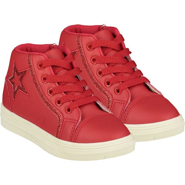 Picture of Ariana Dee Girls 'Star' Red High Top