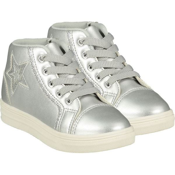 Picture of Ariana Dee Girls 'Star' Silver High Top