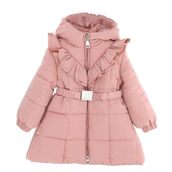 Picture of Monnalisa Baby Girls Pink Coat