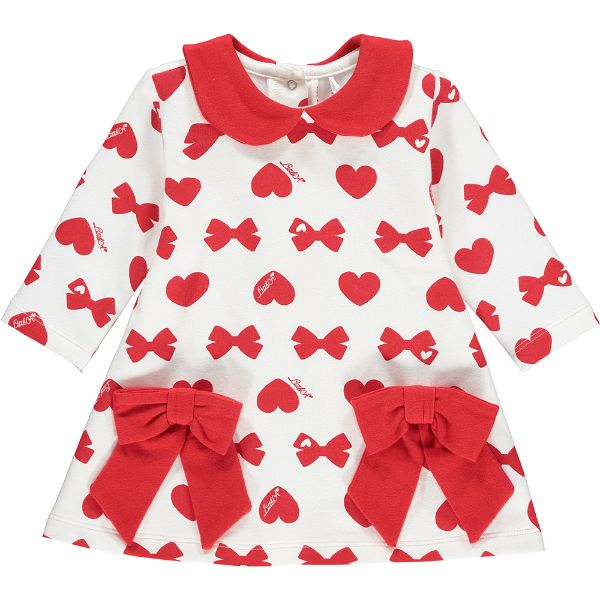 Picture of Ariana Dee Baby Girls 'Bianca' Bows & Hearts Dress