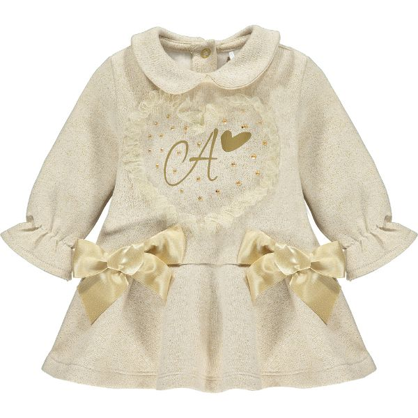 Picture of Little A Baby Girls 'Blaire' Gold Dress