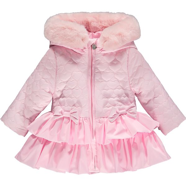 Picture of Little A Baby Girl 'Aubrey' Pink Coat