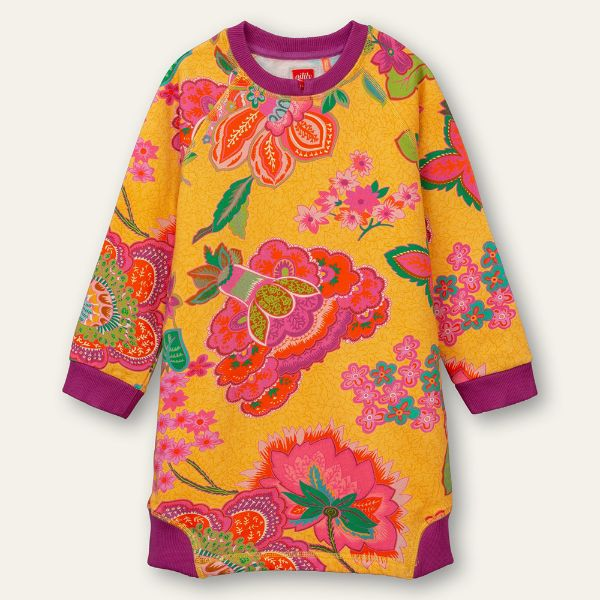 Picture of Oilily Girls 'Doemaar' Yellow Jumper Dress