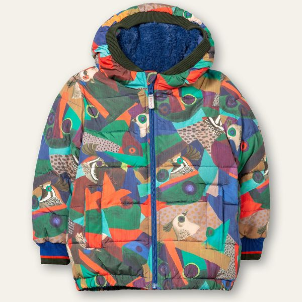Picture of Oilily Boys 'Chief' Blue Printed Coat
