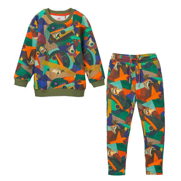 Picture of Oilily Boys Printed Tracksuit