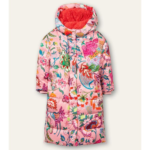 Picture of Oilily Girls 'Cave' Pink Print Coat
