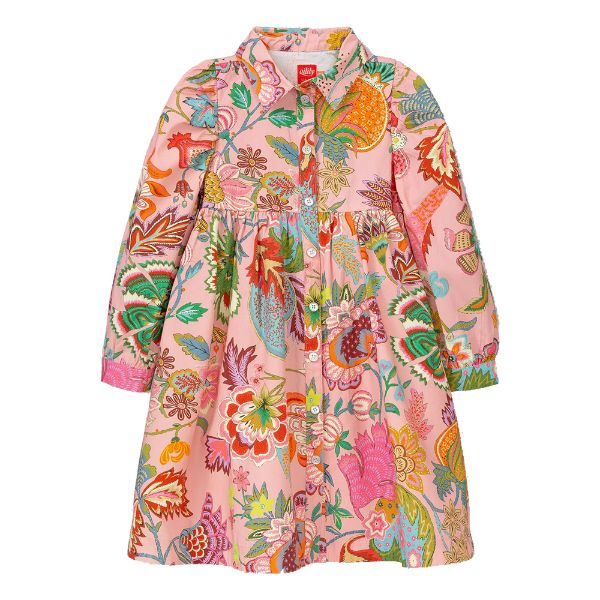 Picture of Oilily Girls 'Dante' Pink Printed Dress