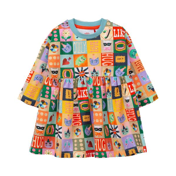 Picture of Oilily Girls 'Dolls' Jersey Dress