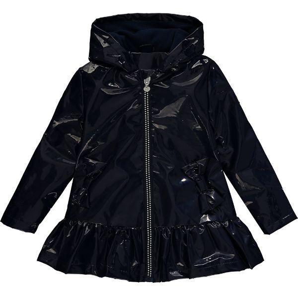 Picture of Ariana Dee Girls 'Scarlett' Navy Raincoat