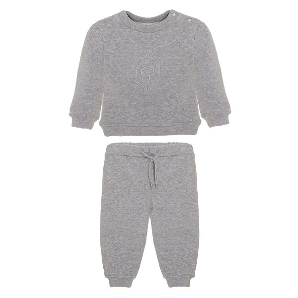 Picture of Patachou Boys Grey Tracksuit