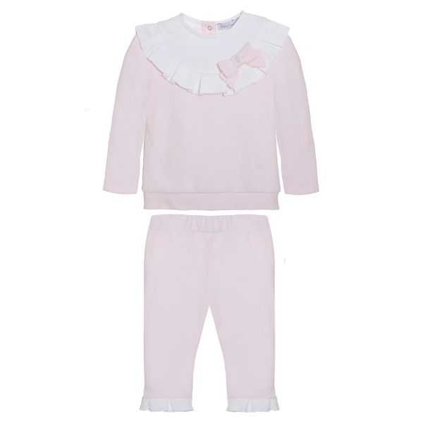 Picture of Patachou Girls Pink Bow Tracksuit