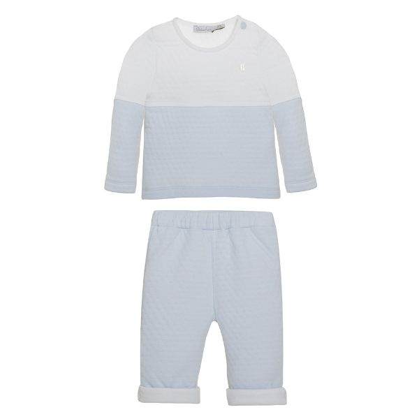 Picture of Patachou Baby Boys Blue & White Tracksuit