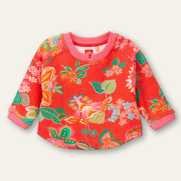 Picture of Oilily Girls Home Red Sweater