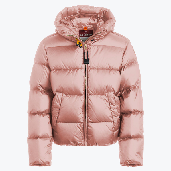 Picture of Parajumpers 'Tilly' Girls Pink Coat