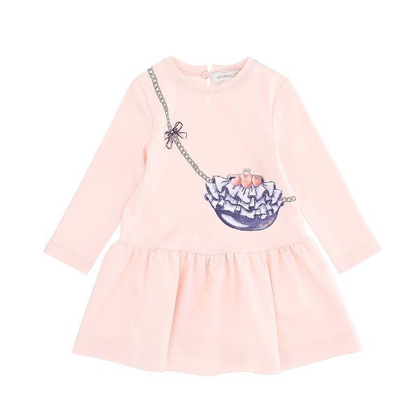 Picture of Monnalisa Baby Girls Pink Dress