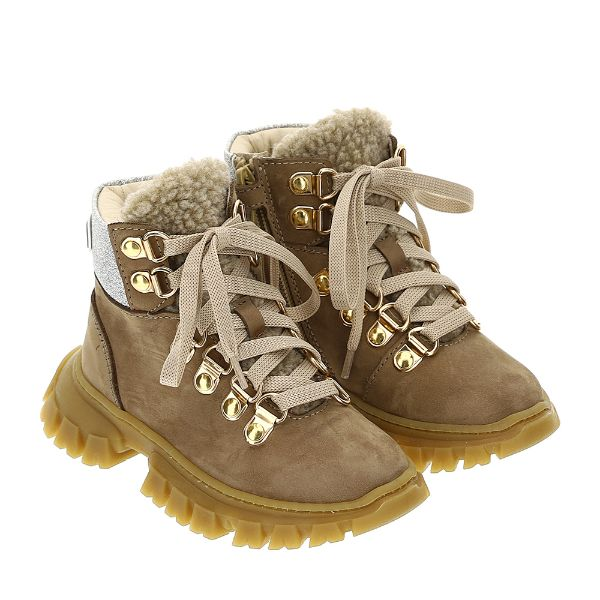 Picture of Monnalisa Girls Brown Boots